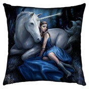 Silk Finish Blue Moon Cushion