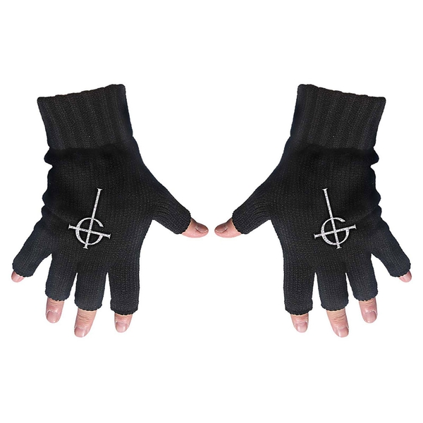Ghost - Ghost Cross Fingerless Gloves