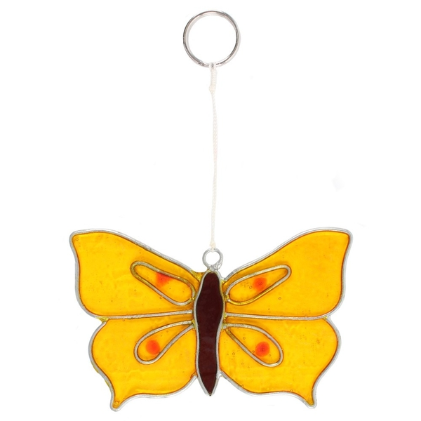 Yellow Brimstone Suncatcher