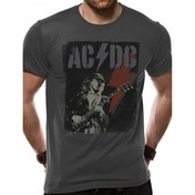 AC/DC - Angus Flash Men's Medium T-Shirt - Grey