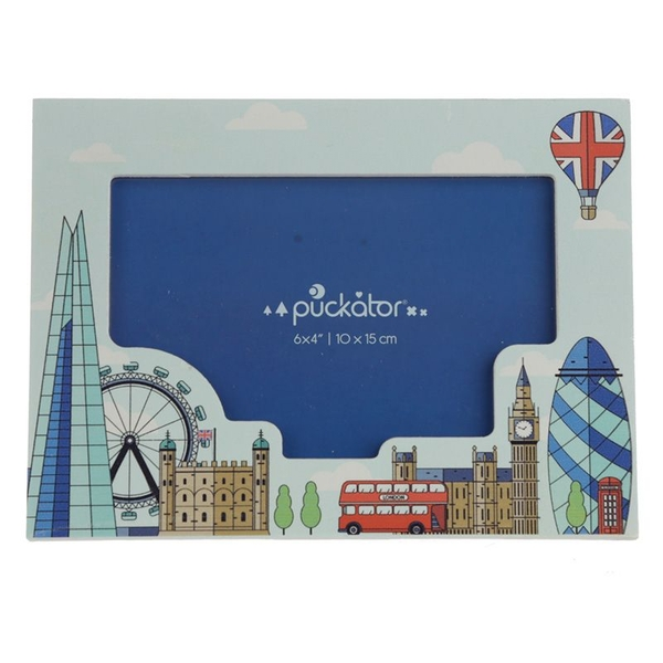 London Icons Wooden Photo Frame