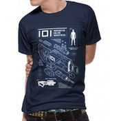 Ready Player One - Rifle Profile Men's Small T-Shirt - Blue