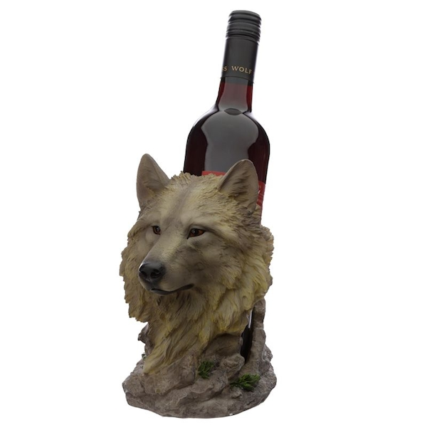 Protector of the North Midnight Dreamer Wolf Bottle Holder