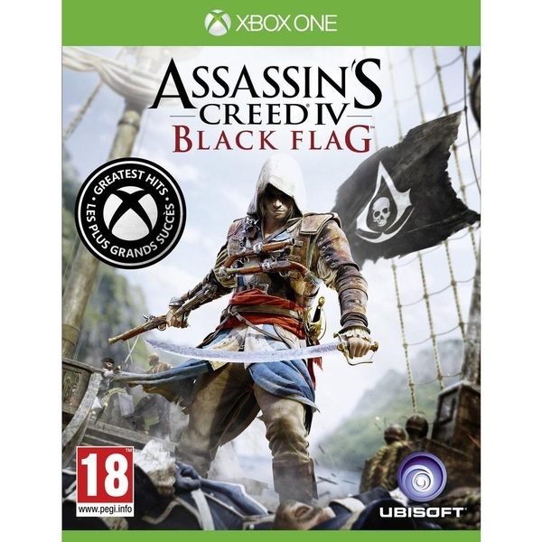 Assassin S Creed Iv 4 Black Flag Xbox One Game Greatest Hits