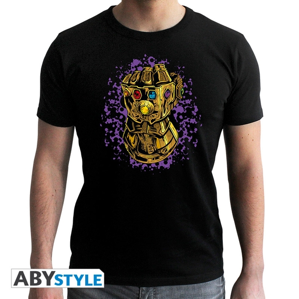 Marvel - Infinity Gauntlet Men's Small T-Shirt - Black
