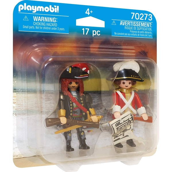 Playmobil Duo Pack Pirate and Redcoat Figures