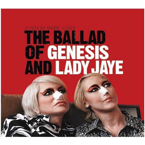 Various ‎– The Ballad Of Genesis And Lady Jaye Limited Edition Clear Vinyl