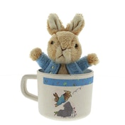 Beatrix Potter Peter Rabbit Organic Mug and Toy Gift Set