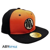 Dragon Ball - Black & Orange Kame Snapback Cap