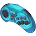 Retro-Bit Official SEGA Mega Drive Blue Wireless Controller 8-Button Arcade Pad for Sega Mega Drive - Image 3