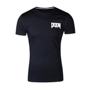 Doom - Helmet Icon Men's Large T-Shirt - Black