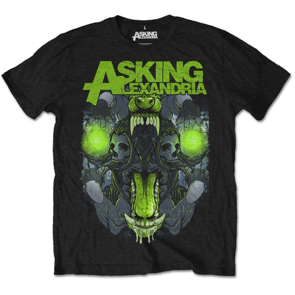 Asking Alexandria - TSth Unisex Medium T-Shirt - Black