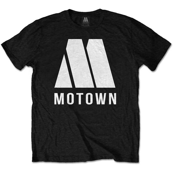 Motown Records - M Logo Unisex X-Large T-Shirt - Black