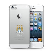 Official Manchester City F.C. Merchandise TPU Clear iPhone 5 Cover