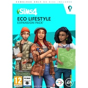 The Sims 4 Eco Lifestyle PC Game [Expansion Pack 9]