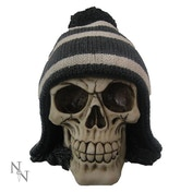 Bobble Black and White Skull