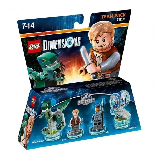 Acu & Owen (Jurassic World) Lego Dimensions Team Pack - Image 1