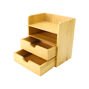 4-Tier Bamboo Desktop Organiser | M&W IHB USA (NEW)