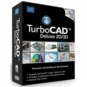 Powerful Turbo Cad Deluxe V16 2D/3D