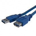 StarTech (1m) Blue SuperSpeed USB 3.0 Extension Cable A to A Male to Female