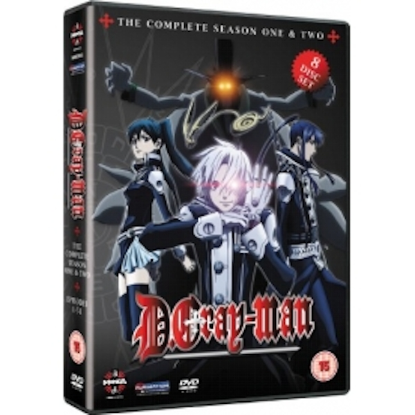 D. Gray-Man The Complete Collection DVD