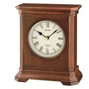 Seiko QXW238B 12 Melody Westminister Chime Clock Wooden