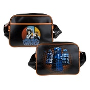 Doctor Who Retro Style Brown Shoulder Bag