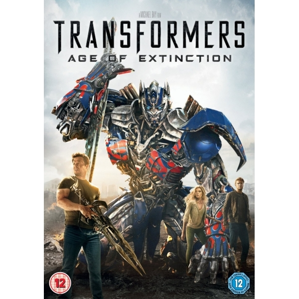 Transformers Age of Extinction DVD (2014)