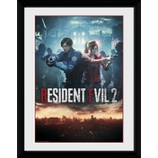 Resident Evil 2 City Collector Print