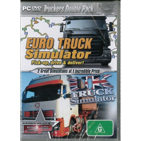 Euro Truck Simulator & UK Truck Simulator Game PC