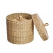 Sass & Belle (Set of 2) Seagrass Baskets with Lid - Image 2