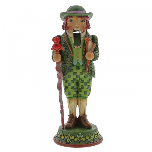 I'm Quite Charming Irish Nutcracker Figurine