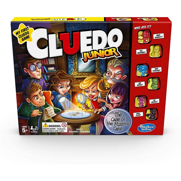 Cluedo Junior - The Case of The Broken Toy Board Game
