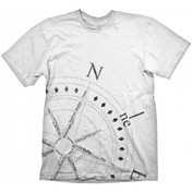 Uncharted 4 Compass T-shirt White X-Large