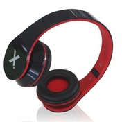 Approx (APPDJJAZZBKR) DJ Jazz Headset, 3.5mm Jack, Foldable, Black & Red