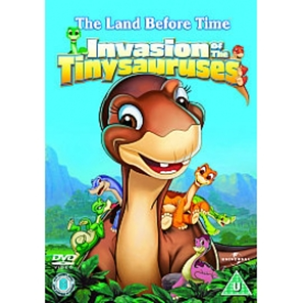 Land Before Time 11 Invasion Of The Tinysauruses DVD