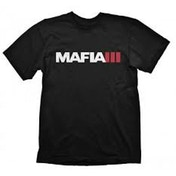 Mafia III Men's Logo X-Large Black T-Shirt