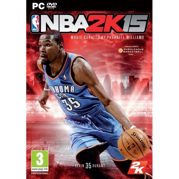 NBA 2K15 PC Game (Kevin Durant MVP DLC Bonus Pack) (Boxed and Digital Code)
