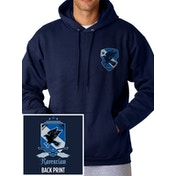 Harry Potter - House Ravenclaw Men's XX-Large Hooded Sweatshirt - Blue
