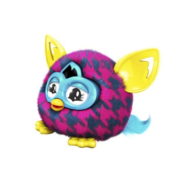 Furby Furblings Purple Houndstooth Plush Figure ...
