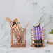 Set of 4 Rose Gold Baskets| M&W - Image 2