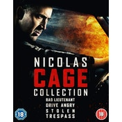 Nicolas Cage Quad Pack Blu-ray