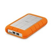 LaCie Rugged Triple 1000GB Orange,White external hard drive