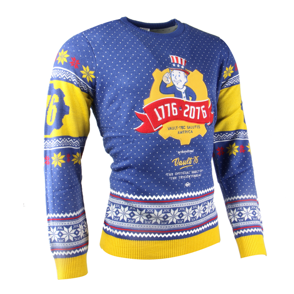 Fallout - Fallout Vault 76 Unisex Christmas Jumper X-Large