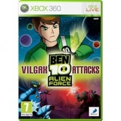 Ex-Display Ben 10 Alien Force Vilgax Attacks Game Xbox 360 Used - Like New