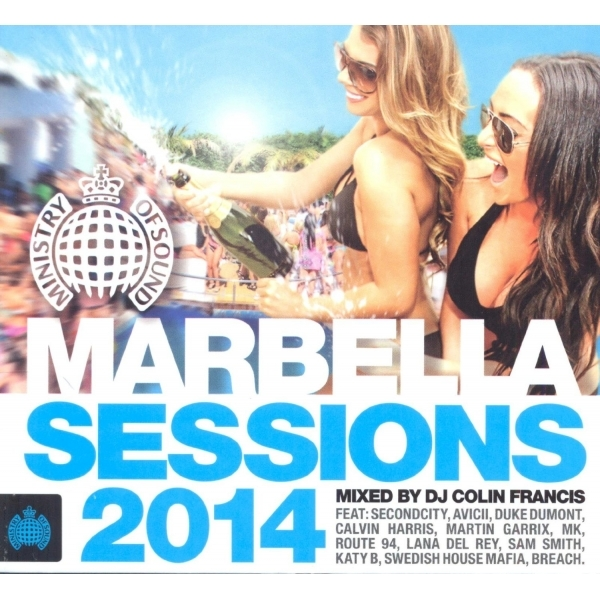 Marbella Sessions 2014 Various Artists CD