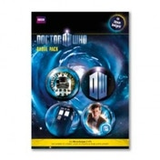Doctor Who Badge Pack 1