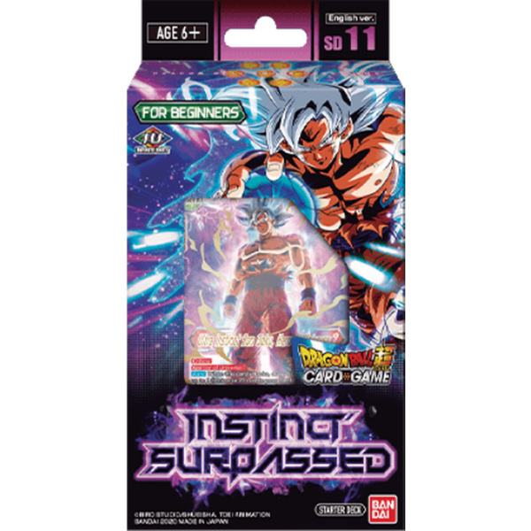Dragon Ball Super CG SD11  Instinct Surpassed Trading Card Starter Deck