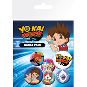 Yokai Watch Mix Badge Pack