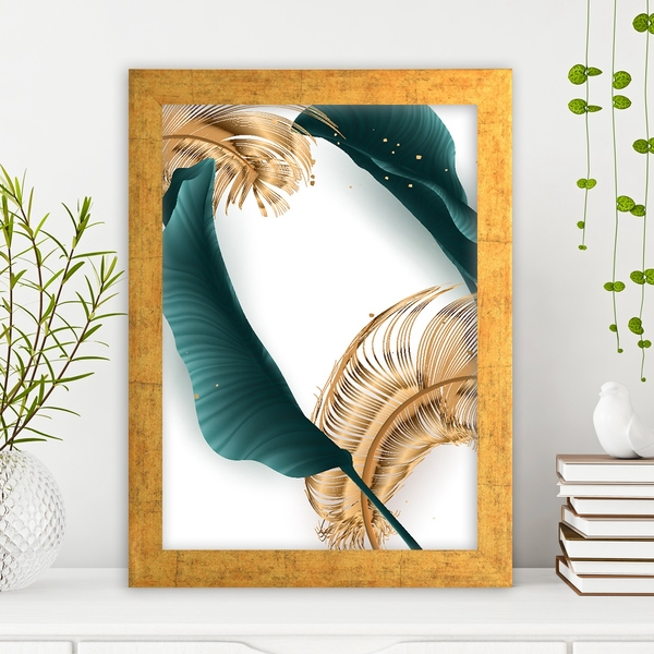 AC13953999324 Multicolor Decorative Framed MDF Painting